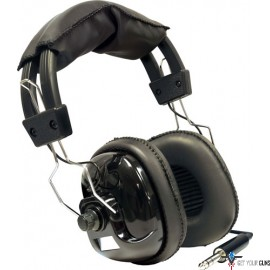 BOUNTY HUNTER METAL DETECTOR STEREO HEADPHONES