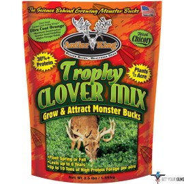 ANTLER KING FOOD PLOT SEED TROPHY CLOVER 1/2 ACRE 3.5LB