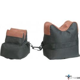 TOC3 BENCH BAG 2-PC SET TAN FABRIC/TAN LEATHER