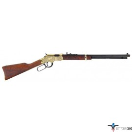 HENRY GOLDENBOY LEVER RIFLE DELUXE 3 .22 CALIBER