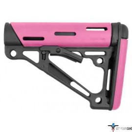 HOGUE AR-15 COLLAPSIBLE STOCK PINK RUBBER MIL-SPEC