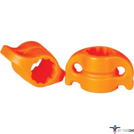 "AMS BOWFISHING SAFETY SLIDE SYSTEM 5/16"" ORANGE 2-PACK"