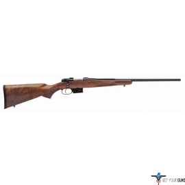 "CZ 527 AMERICAN .204 RUGER W/1"" SCOPE RINGS WALNUT STOCK"
