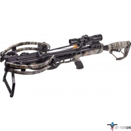 CENTERPOINT CROSSBOW KIT CP400 3X32 ILLUMINATED SCOPE CAMO
