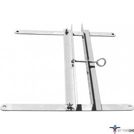 GPS METAL TARGET STAND W/ VISE SYSTEM FOR VARIABLE SZE FRAMES