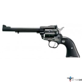 "RUGER SINGLE-SIX .17HMR 6.5"" AS 6-SH BLUED BLACK CHECKERED"
