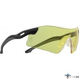 BG GLASSES W/INTERCHANGABLE LENSES CLEAR/SMOKE/ROSE/YELLOW