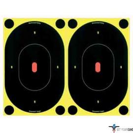 """B/C TARGET SHOOT-N-C 7"""" SILHOUTTE 12 TARGETS"""