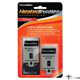 THERMACELL BATTERY PACK FOR PROFLEX HEATED INSOLES 2EA