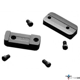 BG SCOPE BASES FOR T-BOLT 2-PC USES BG RIMFIRE RINGS ONLY BLK