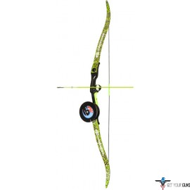 "PSE BOWFISHING KIT KINGFISHER 56"" 40# RH GREEN Dk'D"