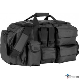 RED ROCK OPERATIONS DUFFLE BAG 7 EXTERNAL UTILITY POUCHES BLK