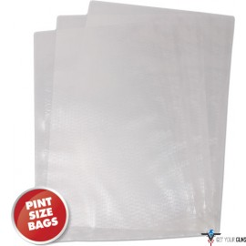 "WESTON 6""X10"" (PINT) VAC SEALER BAGS 100 COUNT"
