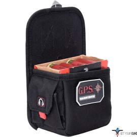 GPS SINGLE BOX SHELL CARRIER 12 GA. OR 20GA. BLACK