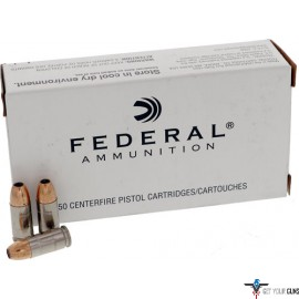 FED AMMO LE 9MM LUGER +P+ 115GR. JHP 50-PACK