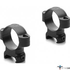 "LEUPOLD LRW 1"" STEEL RINGS HIGH MATTE WEAVER STYLE"