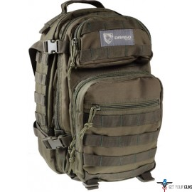 DRAGO SCOUT BACKPACK GREEN 5-MAIN STORAGE AREA HEAVY DUTY