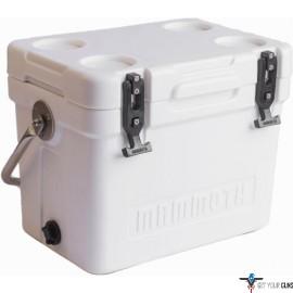 MAMMOTH CRUISER SERIES COOLERS 20 QUART WHITE/WHITE W/HANDLE