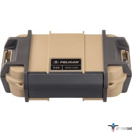 """PELICAN RUCK CASE LARGE R40 W/DIVIDER TAN ID 7.6""""X4.7""""X1.9"""