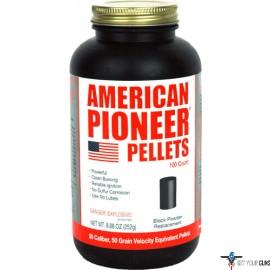 AMERICAN PIONEER .50 CALIBER 50 GRAIN PELLETS 100 PER CAN