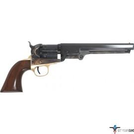 "CIMARRON 1851 NAVY OVAL TG .36 CALIBER 7.5"" FS WALNUT"
