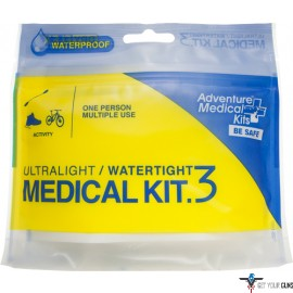 AMK ULTRALIGHT/WATERTIGHT .3 MEDICAL KIT 1 PERSON/MULTI-USE