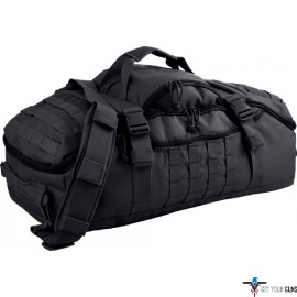 RED ROCK TRAVELER DUFFLE BAG BACKPACK OR LUGGAGE BLACK