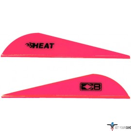 "BOHNING HEAT VANE 2.5"" SOLID HOT PINK 36PK"