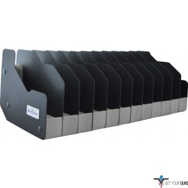 BENCHMASTER WEAPON RACK TWELVE GUN PISTOL RACK