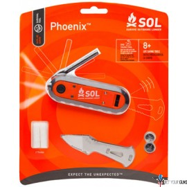 AMK SOL PHOENIX SURVIVAL KIT W/ 6 TOOLS AND FXD BLD KNIFE