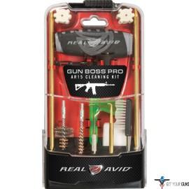 REAL AVID GUN BOSS PRO AR15 CLEANING KIT 20-PIECE