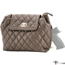 CAMELEON COCO CONCEALED CARRY PURSE-QUILTED STYLE HANDBAG BN
