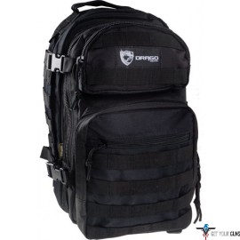 DRAGO COLT PATROL BACK PACK 5-MAIN STORAGE AREA HD BLACK