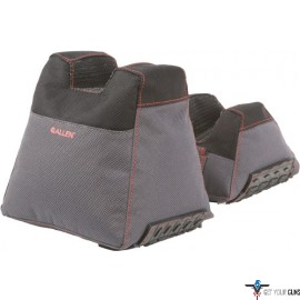 ALLEN THERMOBLOCK FRONT AND REAR BAG FILLED BLK/GRAY