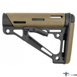 HOGUE AR-15 COLLAPSIBLE STOCK FLAT DARK EARTH RUBBER MILSPEC