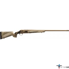 "BG X-BOLT HELL'S CANYON LR 6MM CREEDMORE 26"" BRONZE/AU"