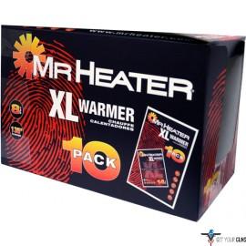MR.HEATER XL BODY WARMER 10 PAIRS PER PACK
