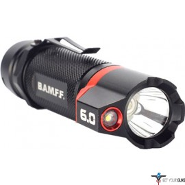 STRIKER BAMFF 6.0 600 LUMENS DUAL CREE LED FLSHLGHT W/FLOOD