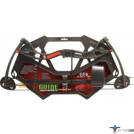 PSE BOW KIT GUIDE COMPOUND YOUTH 12-29# BLACK AGES 10+