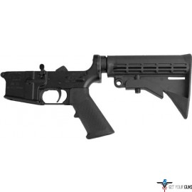 ANDERSON COMPLETE AR-15 LOWER RECEIVER BLACK