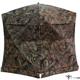 "RHINO GROUND BLIND MOSSY OAK COUNTRY 75""X75""-HUB 66""-TALL"