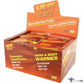 HEAT FACTORY HAND WARMER MINI SIZE 40 PAIR 10 HOUR
