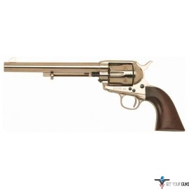 "CIMARRON CAVALRY SCOUT .45LC FS 7.5"" POLISHED NICKEL/WALNUT"