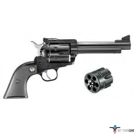 "RUGER BLACKHAWK CONVERTIBLE .45LC/.45ACP 5.5"" BLUED SYN"