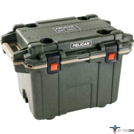 PELICAN COOLERS IM 50 QUART ELITE DARK GRAY/GREEN
