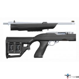 ADTAC RM-4 STOCK RUGER 10/22 TAKE DOWN TACTICAL BLACK SYN