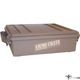 "MTM AMMO CRATE ACR5 DARK EARTH 4.50"" DEEP"