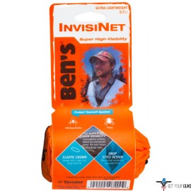 AMK BEN'S INVISINET HEADNET ULTRA HIGH VISIBILITY .7 OZ