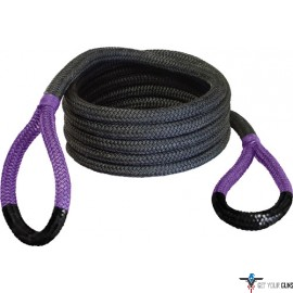 "BUBBA ROPE SIDEWINDER 5/8""X20' UTV POWER STRETCH RP PURP EYES"