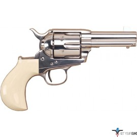 "CIMARRON DOC HOLLIDAY .45LC FS 3.5"" NICKEL TRU-IVORY"